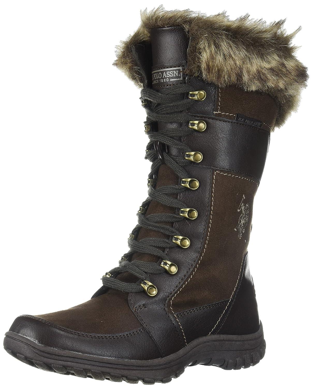 U.S. Polo Assn. Women's Valley Fashion Boot B072R4VLLG 7 B(M) US|Brown