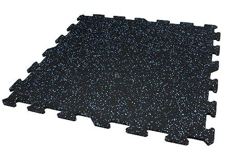 Incstores 8 mm resistente gomma piastrelle 23in x 23 in piastrelle