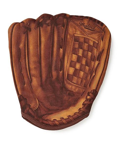 Mustard Baseball Oven Mitt Glove