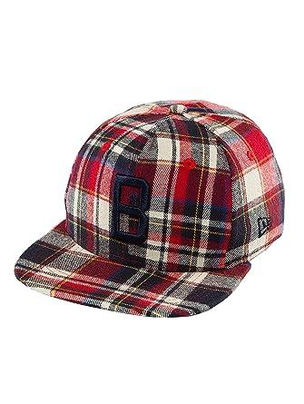 2411b1ef9b7 New Era Men Caps Snapback Cap Plaid Brooklyn Dodgers 9Fifty red - 437322 S
