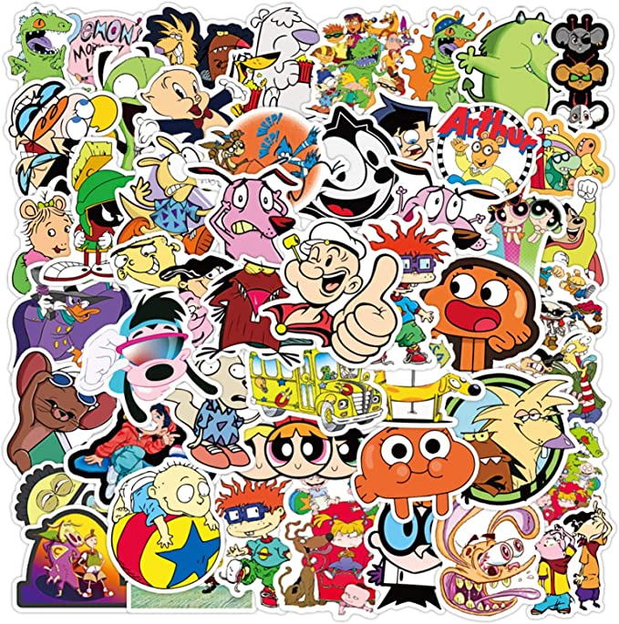 40PCS Cute Creative Chinese Text Sticker for Case DIY Luggage Laptop Skateboard Motorcycle Bicycle Decal Stickers