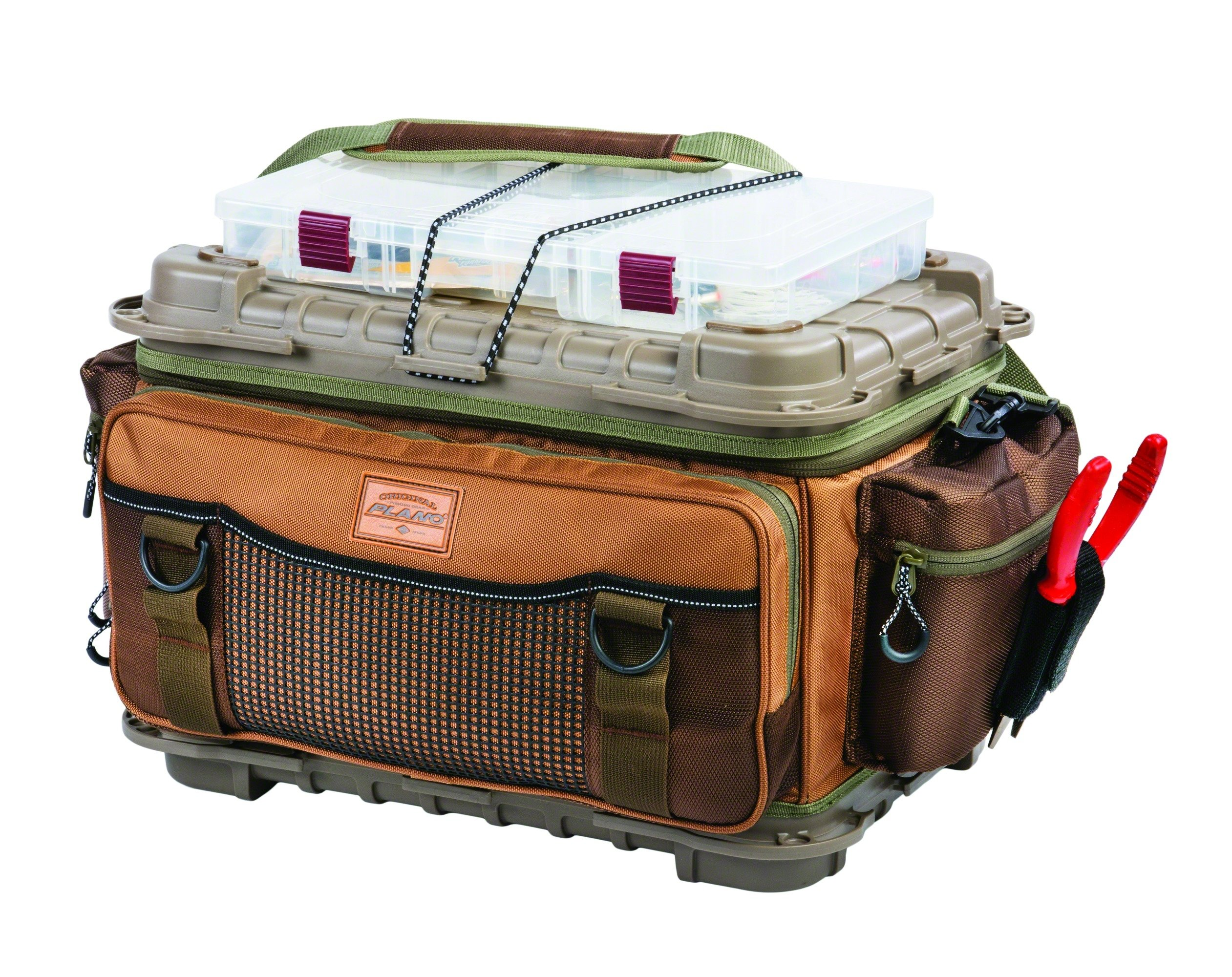 Plano Guide Series 3700 size bag - includes six 3750's Tan/Brown by Plano