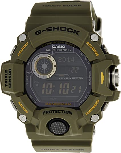Casio Pour des hommes Watch G SHOCK RANGEMAN montre GW 9400  EAQK6