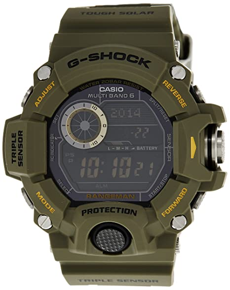 Casio Malla Me Up Watch G-SHOCK RANGEMAN EDICIÓN ESPECIAL ...