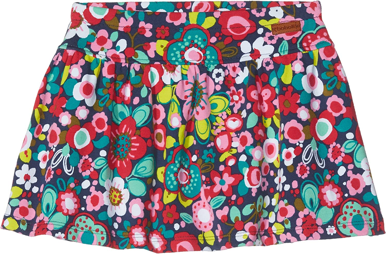 boboli 424055 Falda, Multicolor (Estampado Flores), 110 (Tamaño ...