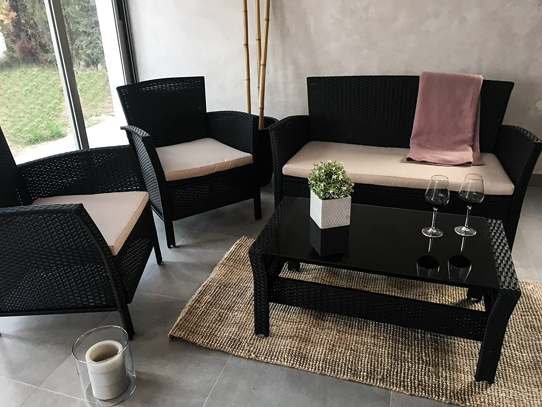 KieferGarden Luisiana Conjunto muebles de jardín y exterior ...