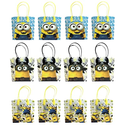 Universal Studios Minions 2015 Despicable Party Gift Bag (Set of 12): Toys & Games