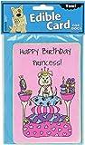 Crunchkins Edible Crunch Card, Birthday Princess