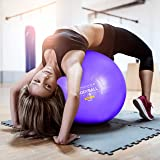 Exercise Ball Chair - 65cm & 75cm Yoga Fitness