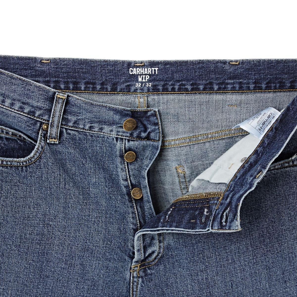Carhartt WIP Hombre Pantalones Marlow Pant EdgeW Brentwood ...