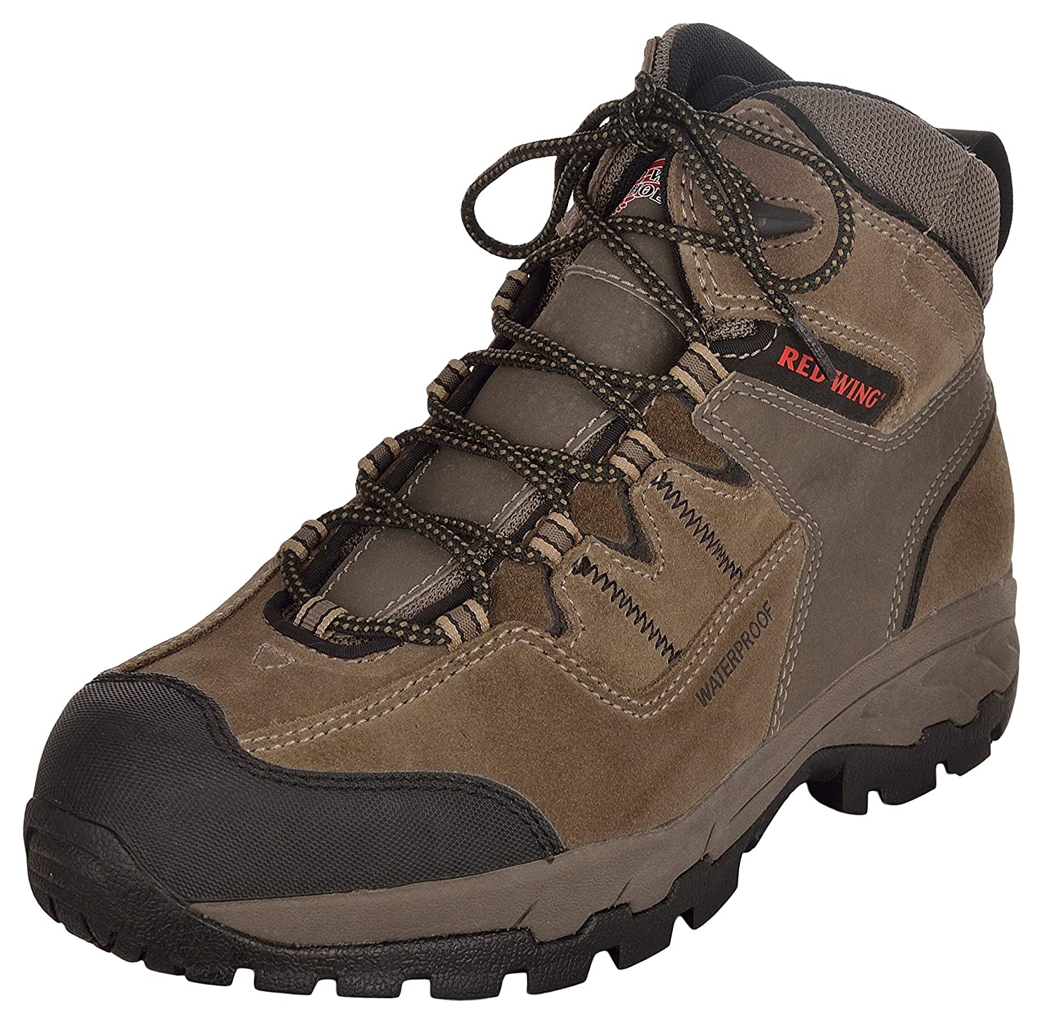 RED WING Men's Brown Leather Safety