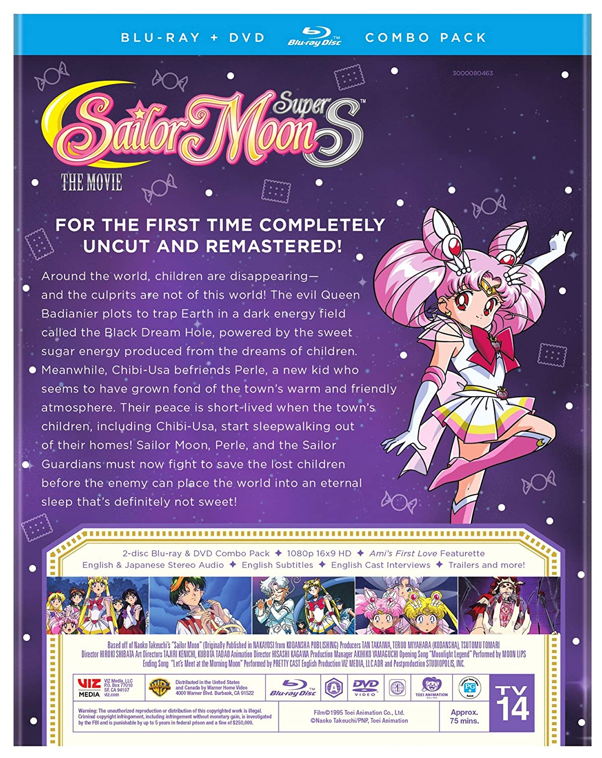 Sailor Moon SuperS: The Movie Blu-ray/DVD 91Ikq8t7uBL._SL1500_