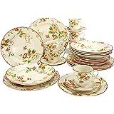Creatable 19717-AZ0394Serie evet, Vajilla, porcelana, multicolor, 40x 32,5x 32,5cm, 30unidades