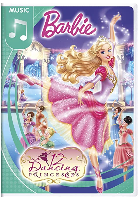 Amazon Com Barbie In The 12 Dancing Princesses Kelly Sheridan
