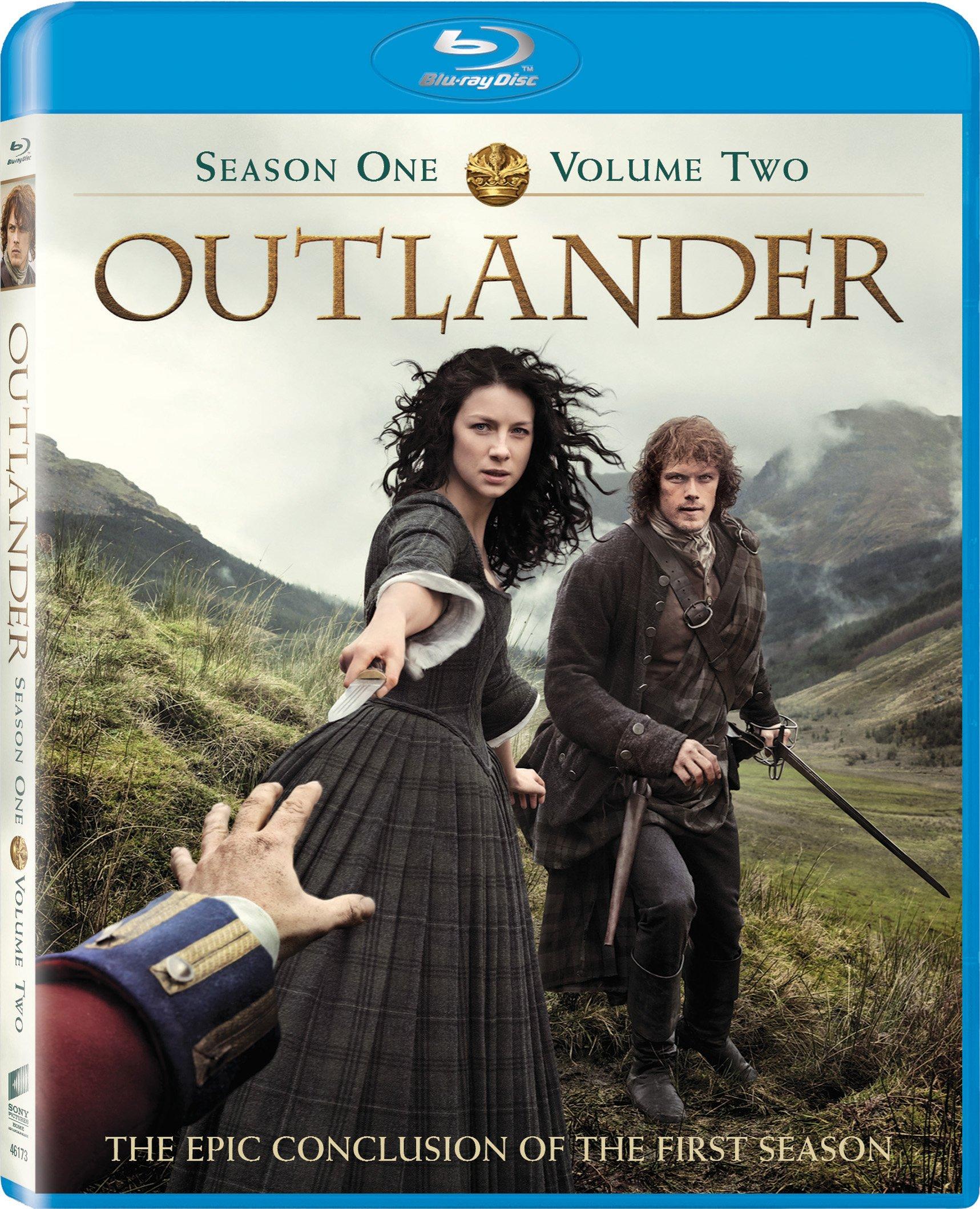 Blu-ray : Outlander: Season 1, Vol. 2 (Ultraviolet Digital Copy, AC-3, Widescreen, 2 Pack, )