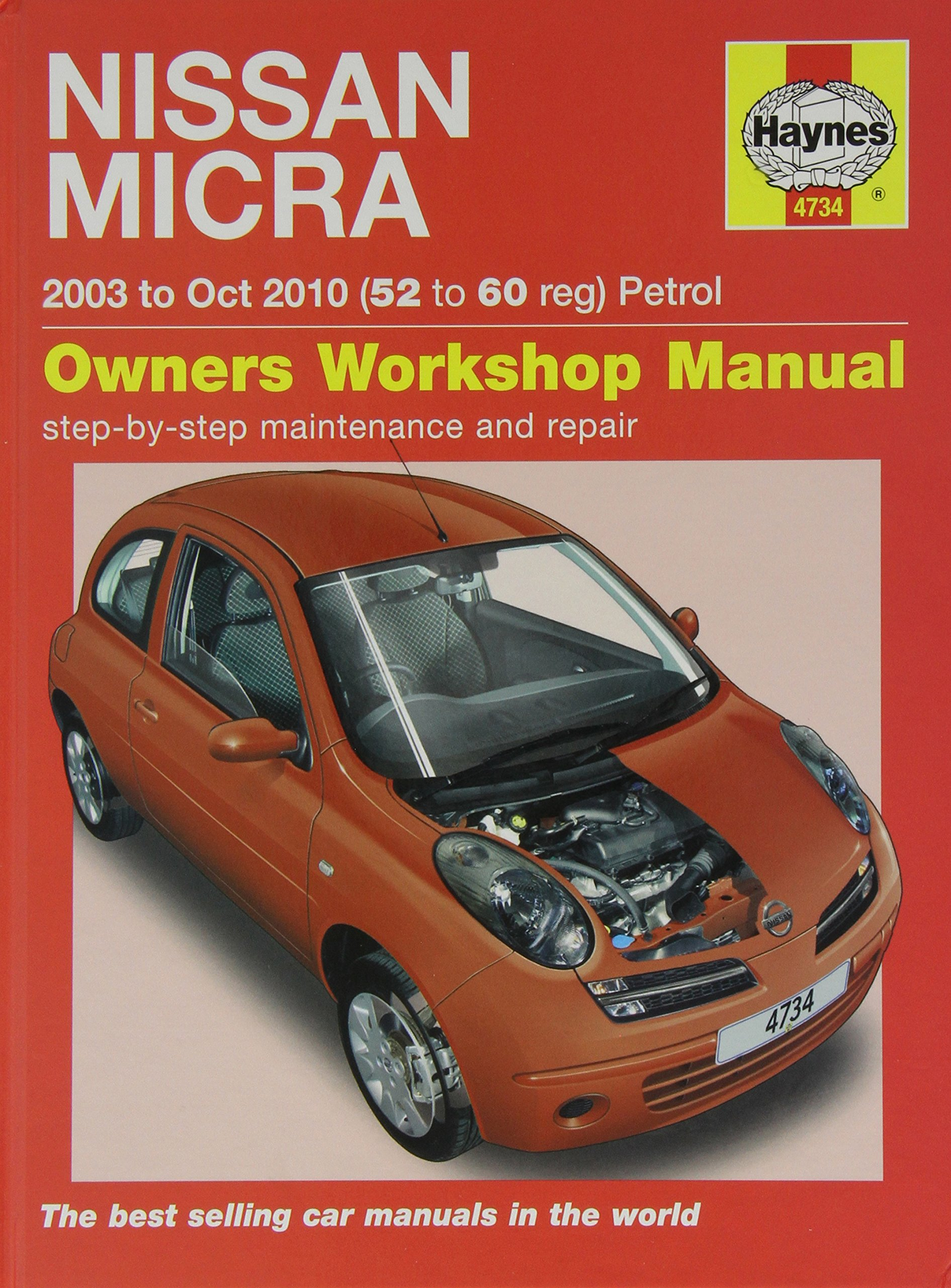 Nissan March K11 Service Manual Able One Word Quickstart Guide Book Micra K12 Fuse Box And Repair Haynes Rh Amazon Co Uk