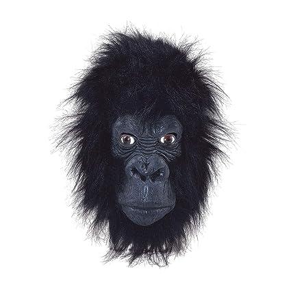 Amazon.com: Gorilla Overhead Mask con boca cerrada: Toys & Games