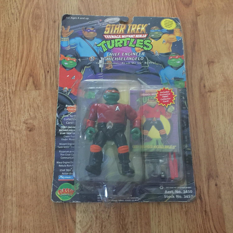 Teenage Mutant Ninja Turtles Star Trek Michaelangelo As Scotty