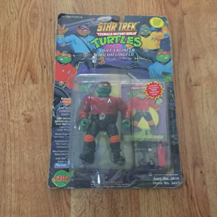 Amazon.com: Teenage Mutant Ninja Turtles Star Trek ...