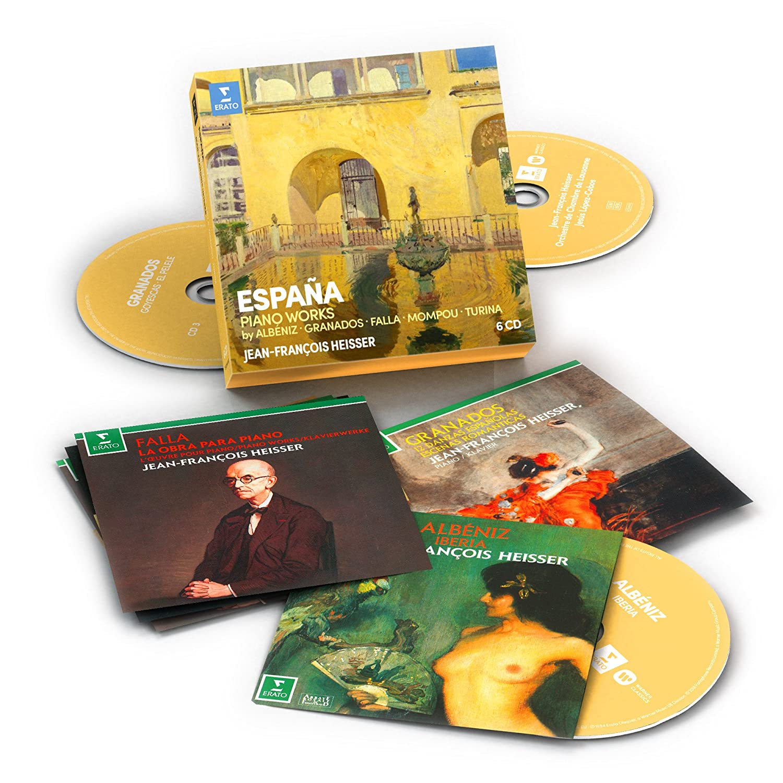 Jean-François Heisser - España: Albeniz, Falla, Granados, Mompou, Turina (6CD) - Amazon.com Music