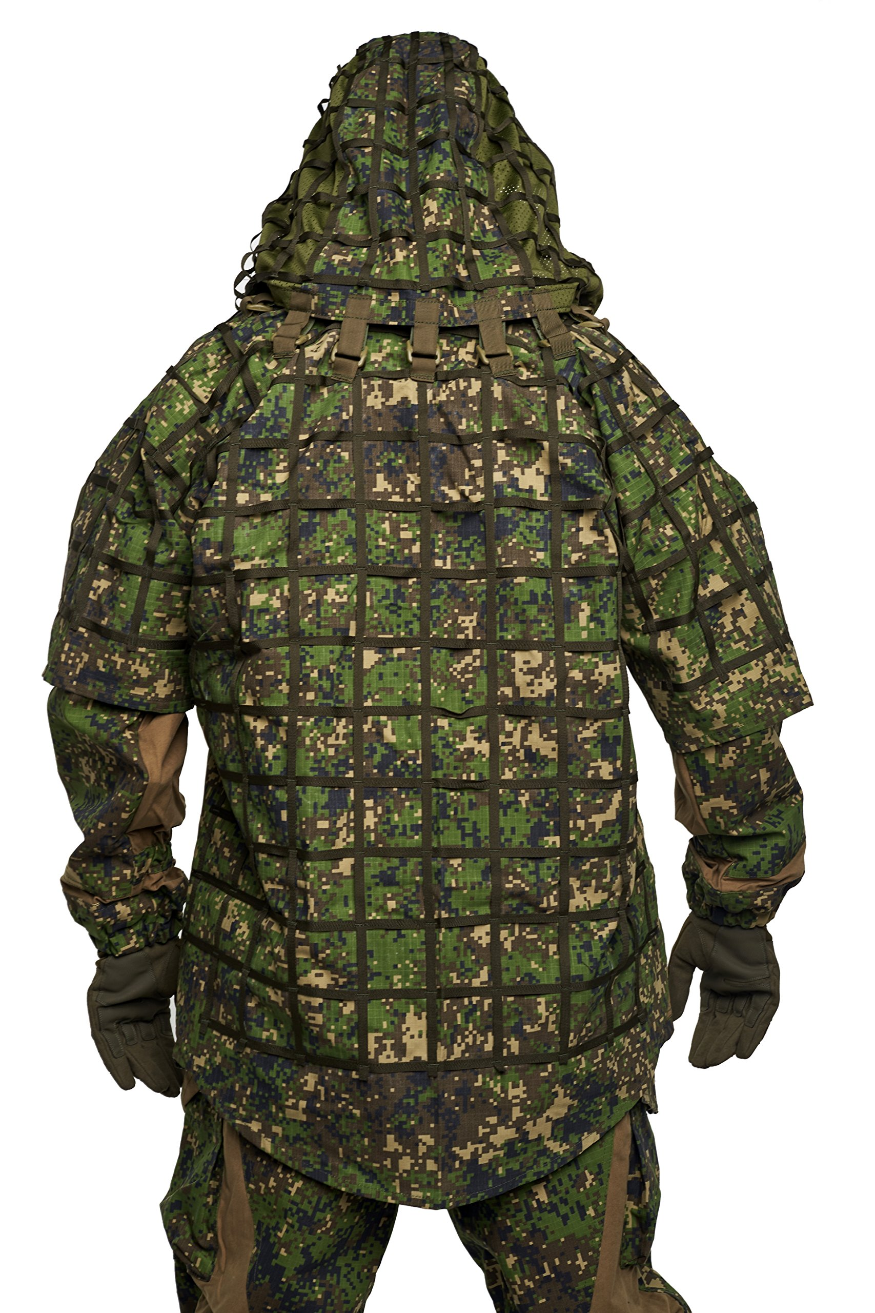 Ghillie Suit ''Ghost'' by SPOSN / SSO   Russian Sniper Coats / Viper Hoods (Spectre)