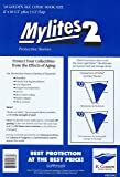 "Mylites 2 Mil Comic Book Golden Age Size 8"" x 10 1/2"" Plus 1-1/2"" Flap Pack of 50"