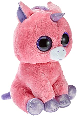 Ty Magic, peluche unicornio, 40 cm, color rosa (36804TY)