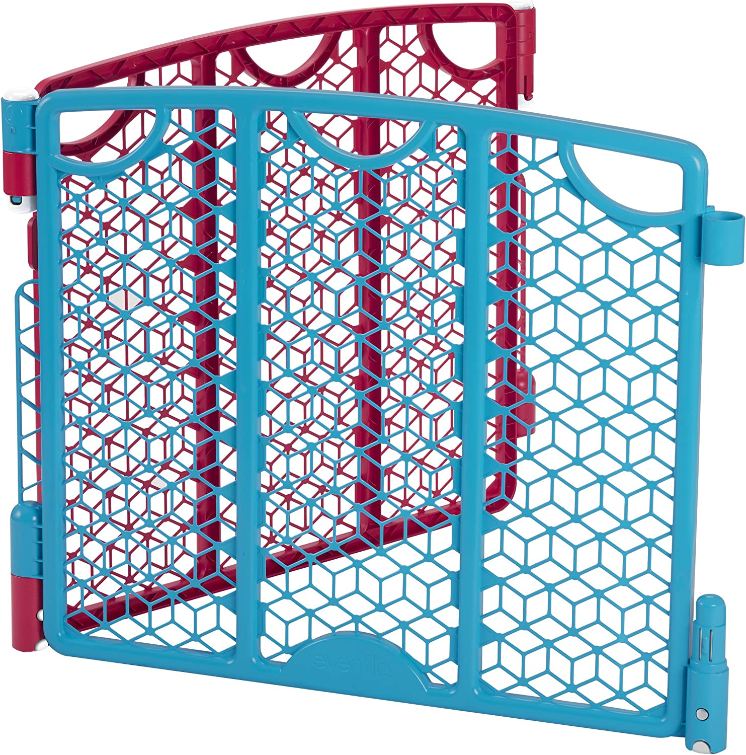 Cream Evenflo Versatile Play Space 2-Panel Extension