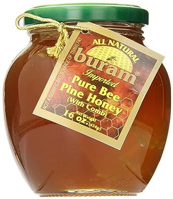 Ziyad Buram Honey with Comb, 16 Ounce: Amazon co uk: Grocery