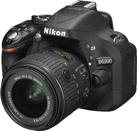 Nikon D5200 - Cámara réflex Digital de 24.1 MP (Pantalla 3 ...