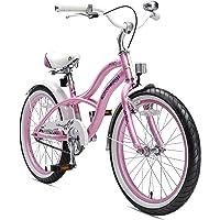 BIKESTAR Vélo Enfant pour Garcons et Filles de 6 Ans ★ Bicyclette Enfant 20 Pouces Cruiser avec Freins ★