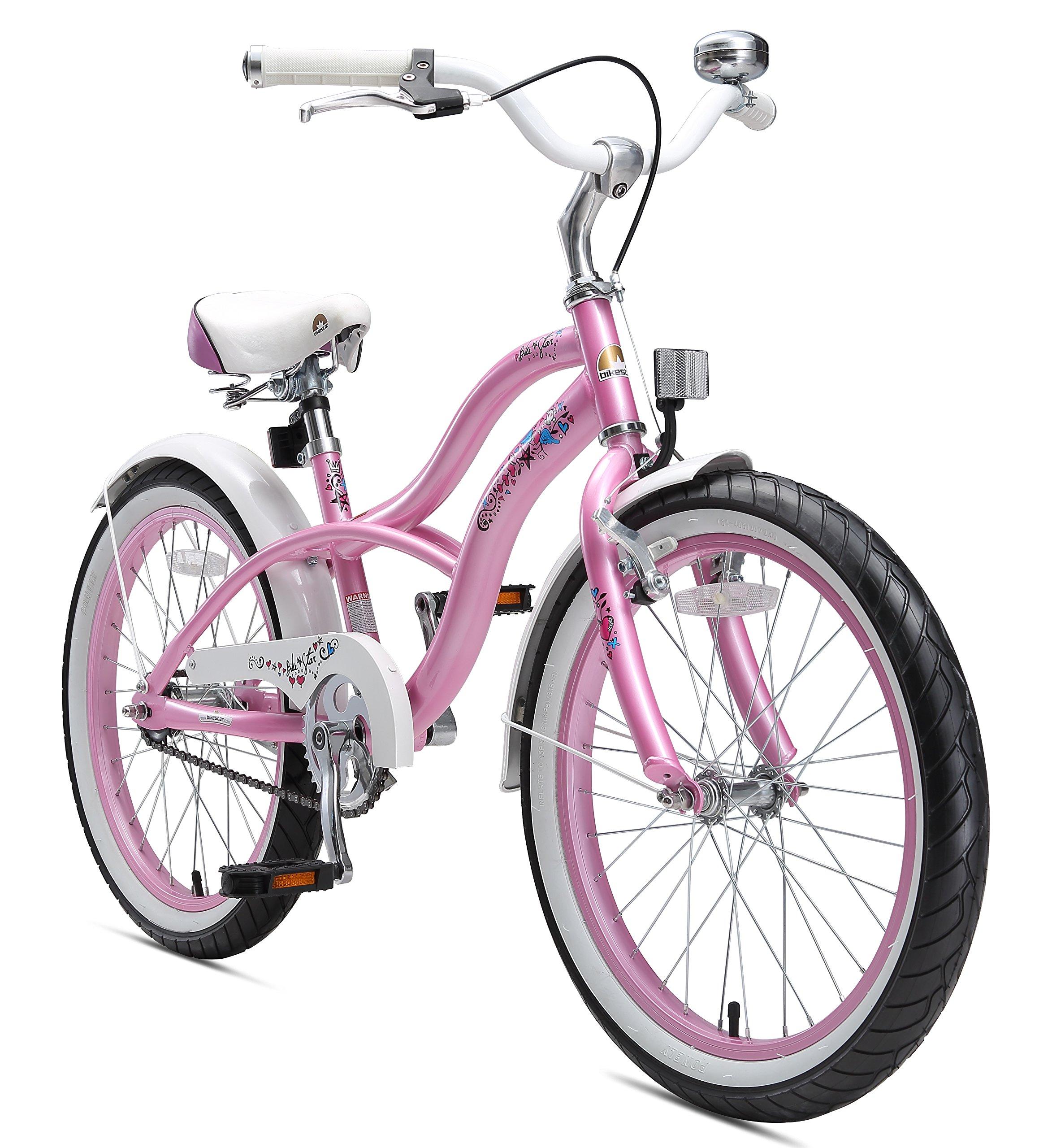 5ee2c41c310eb BIKESTAR Vélo Enfant pour Garcons et Filles de 6 Ans ☆ Bicyclette Enfant 20  Pouces Cruiser avec Freins ☆