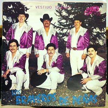 LOS BRAVEROS DE PENAS VESTIDO BLANCO vinyl record