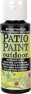 product image for DecoArt, Wrought Iron Black Patio Paint, 2-Ounce, 2 Fl Oz
