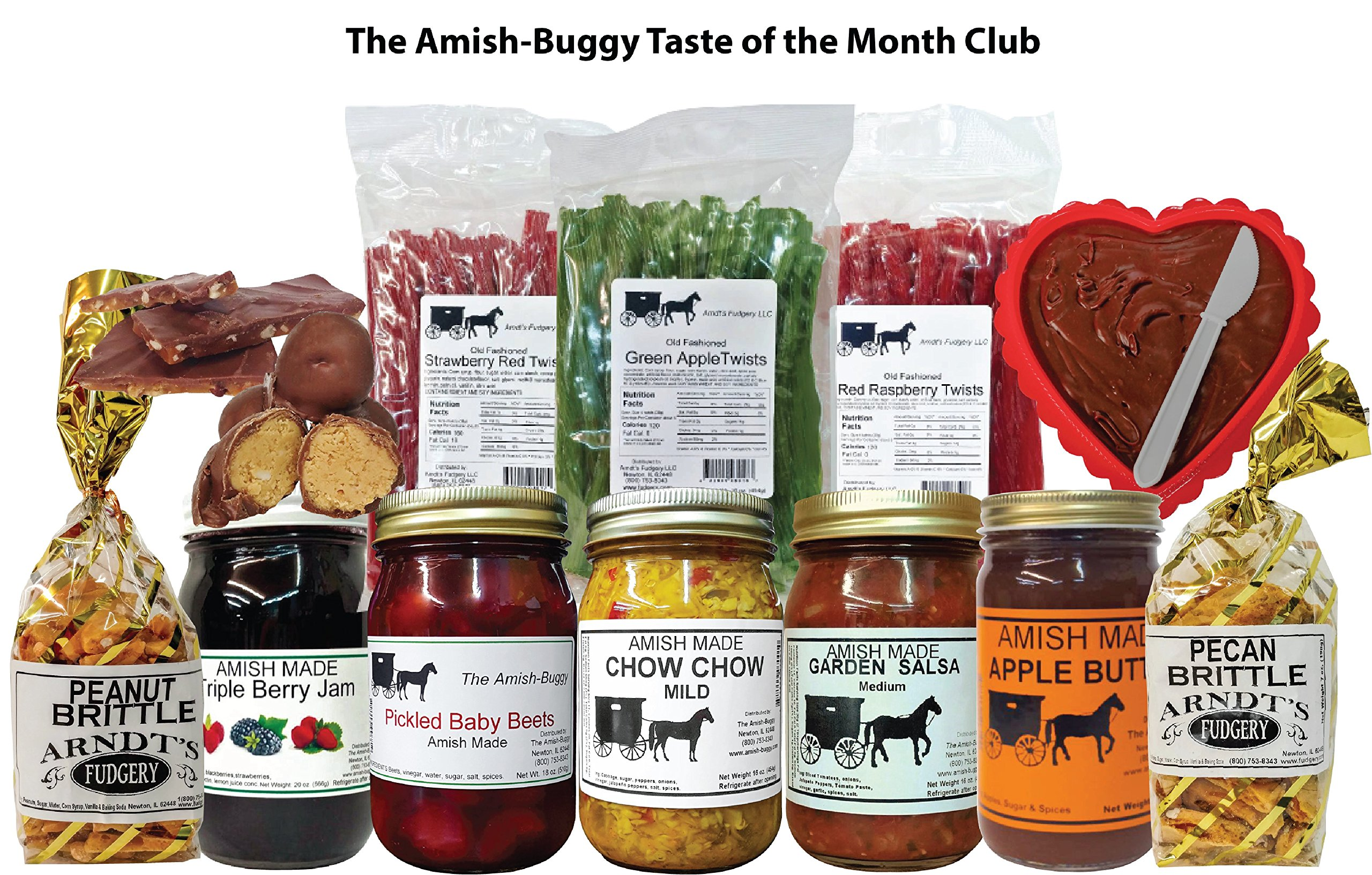 Taste of the Month Club by Amish Buggy