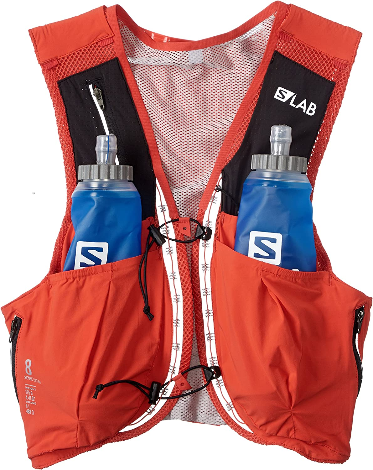 mochila salomon s-lab sense ultra 8 blue