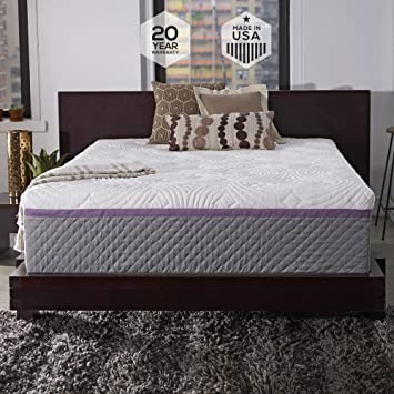 Amazon Com Sleep Innovations Alden 14 Inch Memory Foam Mattress