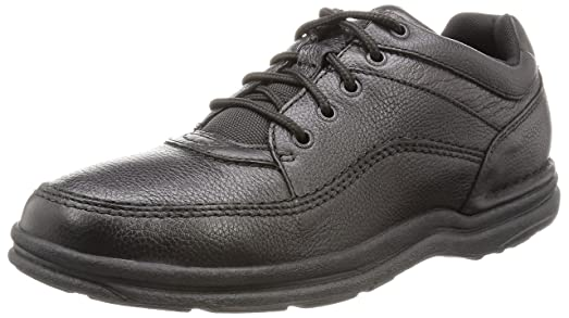 Rockport Mens WT Classic,Black Tumbled,11 N (Narrow)(N)