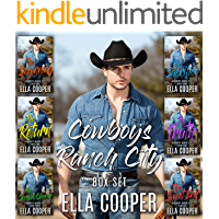 Cowboys Ranch City - Complete Series (Book 1-6): An Opposites Attract Western Romance