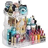 Readaeer - Organizador de maquillaje ajustable con rotación de 360 grados para cosméticos, pintalabios, perfumes, caja de alm