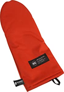 "San Jamar CTP13 Cool Touch Puppet Oven Mitt Heat Protection up to 500° F, 13"" Length, Red"