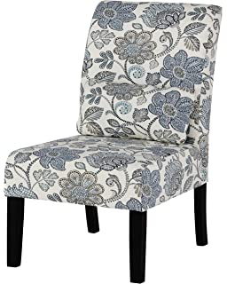 Ashley Furniture Signature Design   Sesto Accent Chair W/ Pillow    Contemporary   Floral Pattern