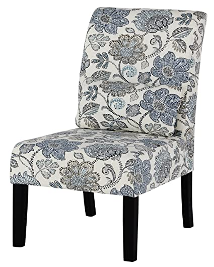 Superbe Ashley Furniture Signature Design   Sesto Accent Chair W/ Pillow    Contemporary   Floral Pattern