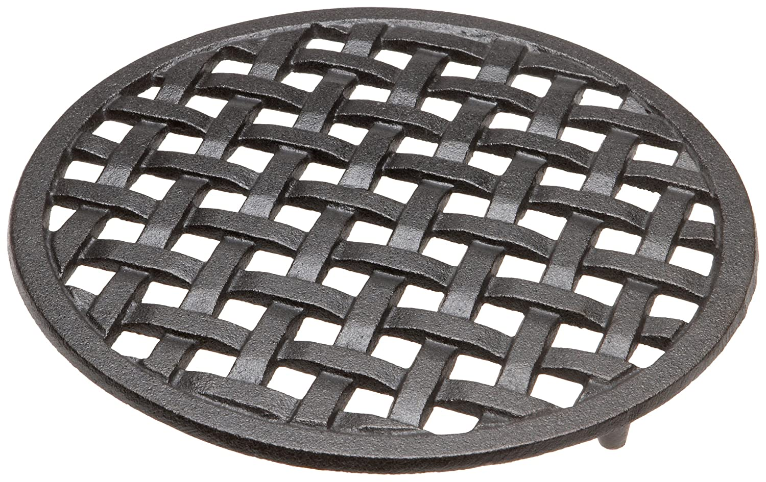 Trivet - Protect Your Table Tops - Cast Iron 8 Inches in Diameter By Old Mountain