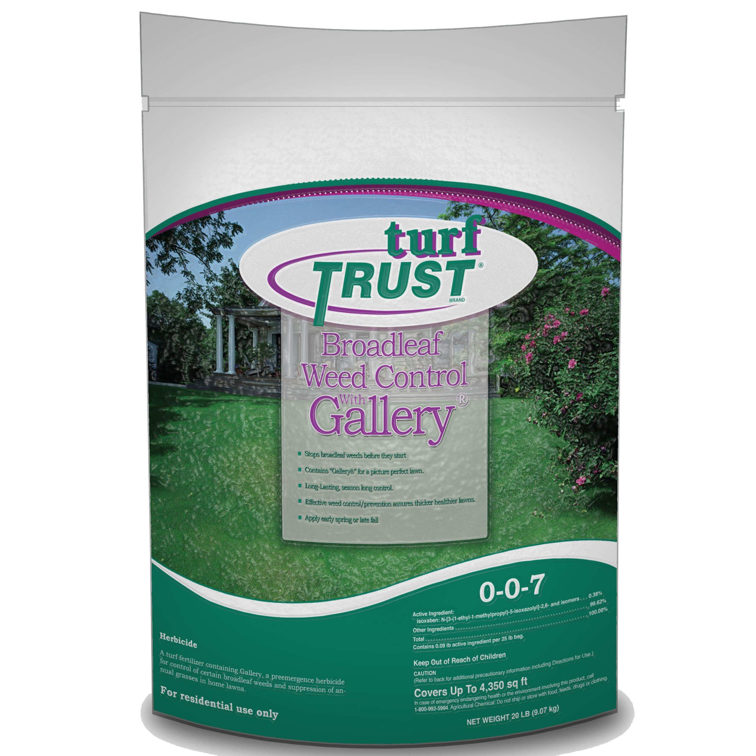 Pro Trust Products 71302 4.4M 20-Number Broadleaf Weed Ctrl with Gallery