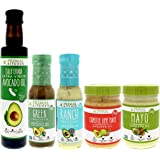 Primal Kitchen – Whole 30 Kit | Mayo, Chipotle Lime Mayo, Extra Virgin Avocado Oil, Greek Vinaigrette and Marinade, Ranch Dressing (Primal Kitchen Kit)