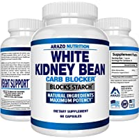 White Kidney Bean Extract - 100% Pure Carb Blocker and Fat Absorber for Weight Loss - Intercept Carbs – Arazo Nutrition