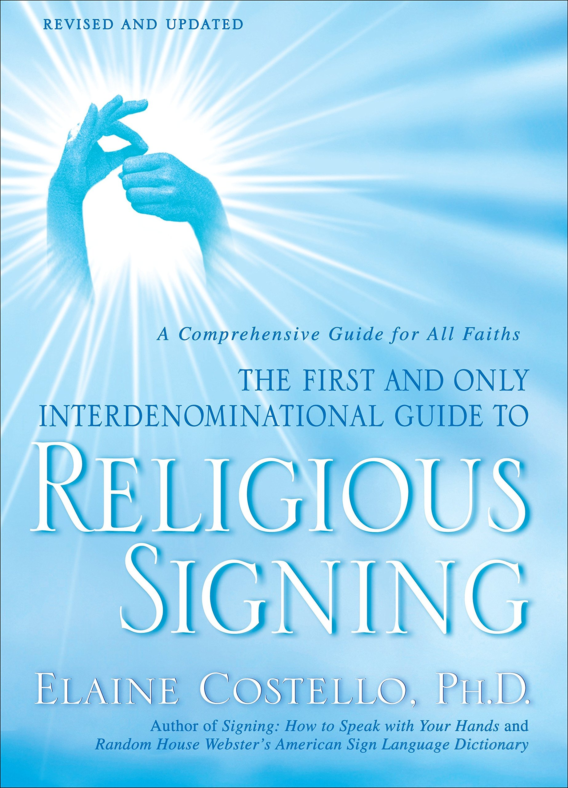 Religious Signing: A Comprehensive Guide for All Faiths by WaterBrook Press