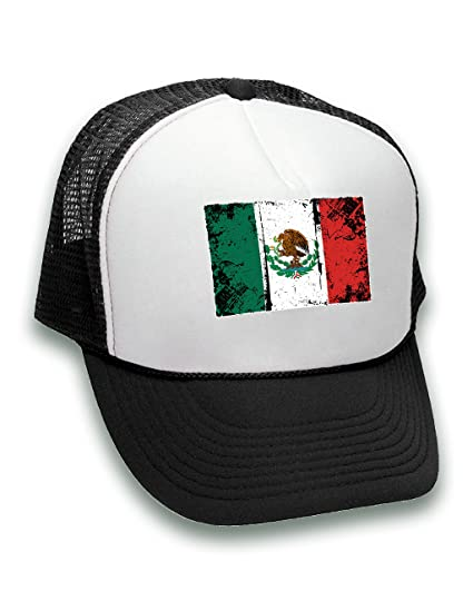 315a3a7191bd5 Pekatees Mexico Trucker Hat Mexican Hats for Mexico Fans Mexico ...