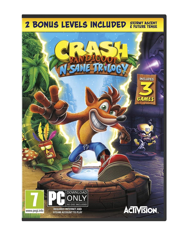 Amazon.com: Crash Bandicoot N. Sane Trilogy (PC Code in Box ...